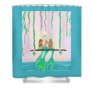 Together Fun Shower Curtain