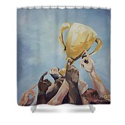 Together We Can Shower Curtain