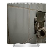 Toilet Paper Shower Curtain