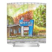 Toiyabe Motel In Walker, California Shower Curtain