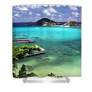 Tokashiki Island - Okinawa Shower Curtain