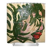 Toke 2 - Tile Shower Curtain
