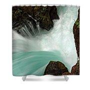Toketee Falls 3 Shower Curtain