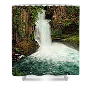 Toketee Falls 4 Shower Curtain