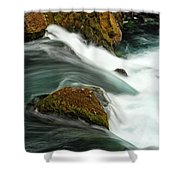Toketee Falls 5 Shower Curtain