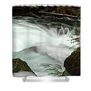 Toketee Falls 7 Shower Curtain