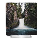Toketee Falls Shower Curtain