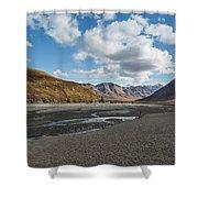 Toklat River Shower Curtain