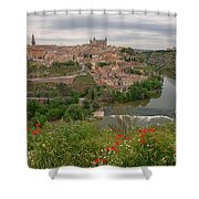 Toledo City, Spain Shower Curtain