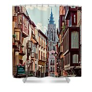 Toledo Cityscape Shower Curtain