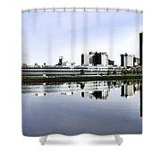 Toledo Panoramic View Shower Curtain