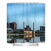 Toledo Skyline Shower Curtain