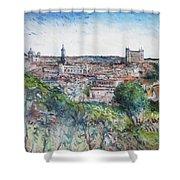 Toledo Spain 2016 Shower Curtain