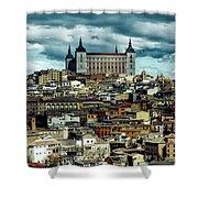 Toledo Spain Shower Curtain