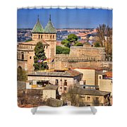Toledo Town View Shower Curtain