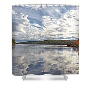 Tolland Lake Two Shower Curtain