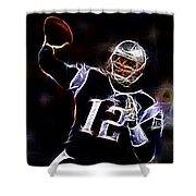 Tom Brady - New England Patriots Shower Curtain