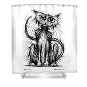 Tom Cat Shower Curtain