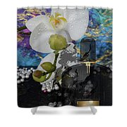 Tom Ford Black Orchid Perfume 2 Shower Curtain