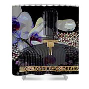 Tom Ford Black Orchid Shower Curtain