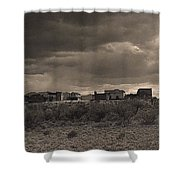 Tom Horn Set In Profile Mescal Arizona 1980 Shower Curtain