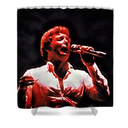 Tom Jones In Concert Shower Curtain