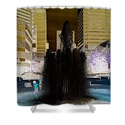 Tom Mccall Waterfront Fountain Shower Curtain