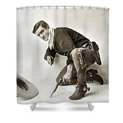 Tom Mix (1880-1944) Shower Curtain