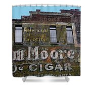 Tom Moore Ten Cent Cigar Shower Curtain