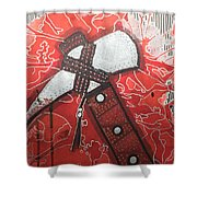 Tomahawk Shower Curtain
