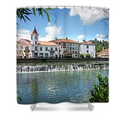 Tomar Cityscape Shower Curtain