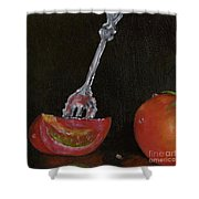 Tomato Appetizer Shower Curtain