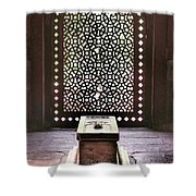 Tomb At The Humayun Temple Complex Shower Curtain