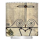 Tomb Door And Gate Shower Curtain