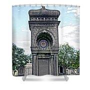 Tomb Of General P G T Beauregards Daughter Shower Curtain