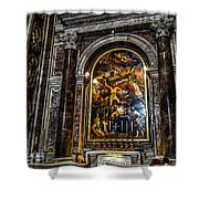 Tomb Of Pope John Paul II In St Peter's Basilica Shower Curtain