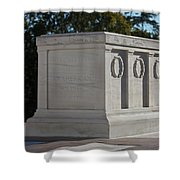 Tomb Of The Unknown Soldier, Arlington Shower Curtain by Terry Moore