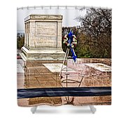 Tomb Of The Unknown Soldiers Shower Curtain