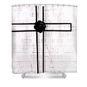 Tomb Of The Wife Shower Curtain