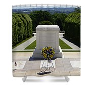 Tomb Of The Unknowns Shower Curtain