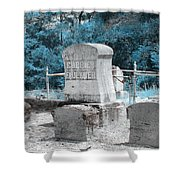 Tombstone Amiss Shower Curtain