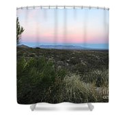 Tombstone Dawning Shower Curtain