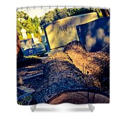 Tombstones Shower Curtain