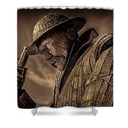 Tommy, 1101 Shower Curtain