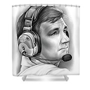Tommy Bowden Shower Curtain