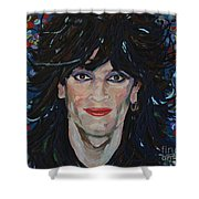 Tommy Lee 80s Hair Bands Motley Crue Shower Curtain