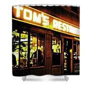 Tom's Restaurant Shower Curtain
