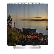 Tones Of Home Shower Curtain
