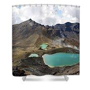 Tongariro Crossing Shower Curtain
