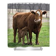 Tongue Shower Curtain